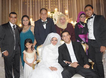 احمد راتب وزوجته