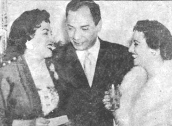 فطين عبد الوهاب وليلى مراد