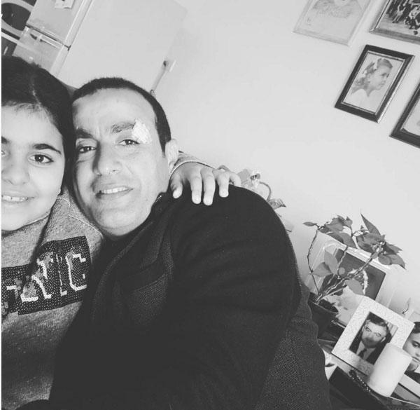 احمد السقا وابنته