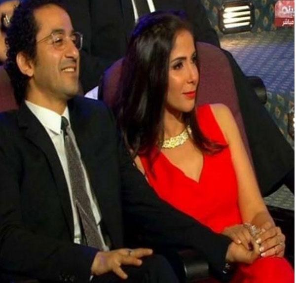 احمد حلمي و منى زكي