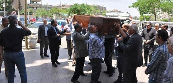 جنازة امين بسيوني والد تامر امين