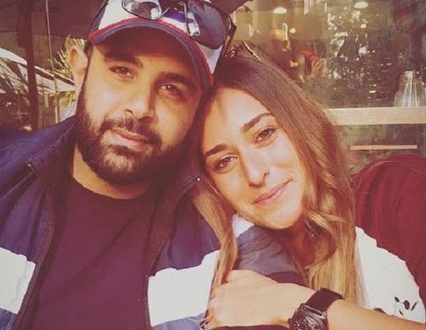 امينة خليل وزوجها