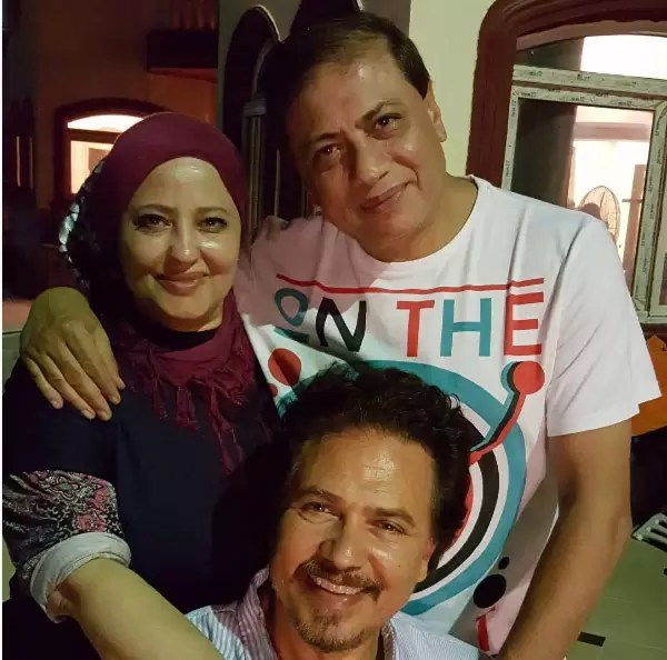 محمد رياض ووالده ووالدته
