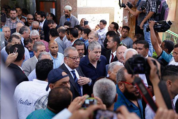 تشييع جثمان طارق سليم إلى مثواه الأخير