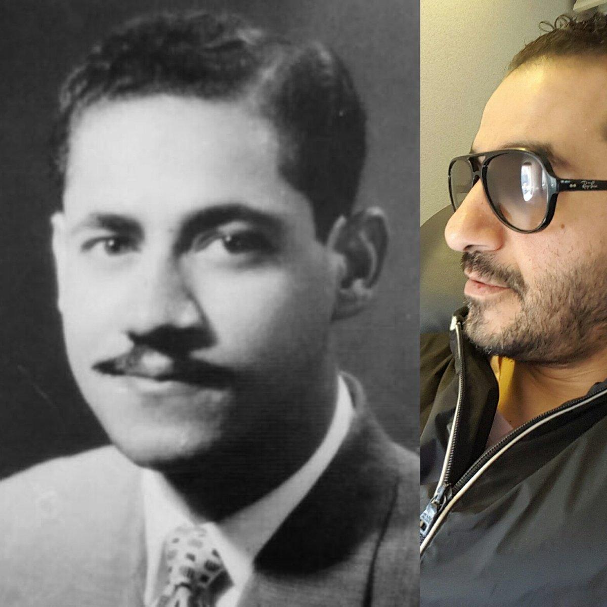 احمد حلمي ووالده