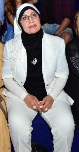 والدة تامر حسني