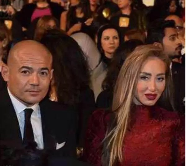 ريهام سعيد وزوجها