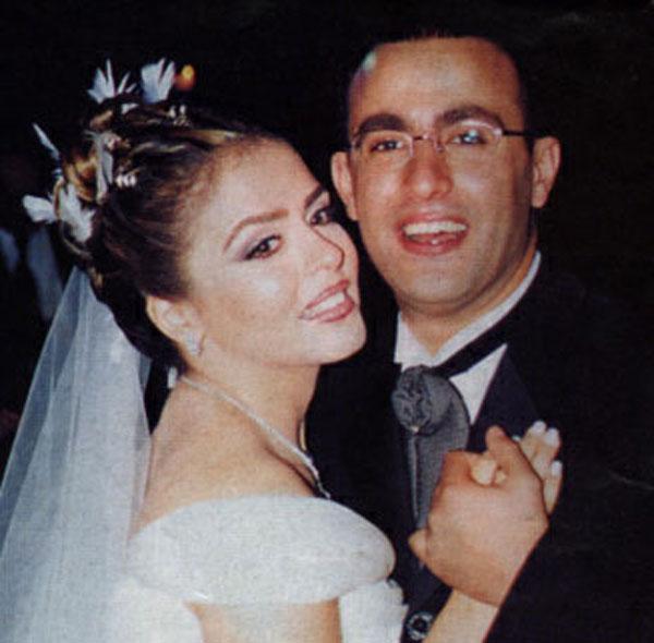 احمد السقا وزوجته