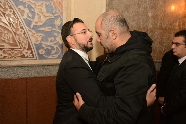 عزاء والد كريم أبوزيد