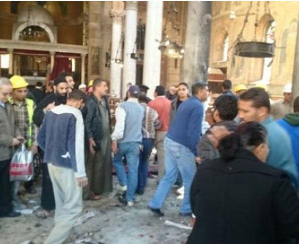 انفجارات كنيسة العباسبة