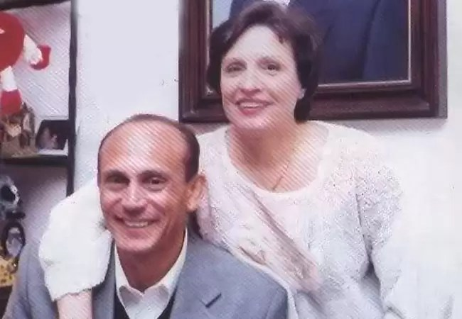 محمد صبحي وزوجته - بارزة