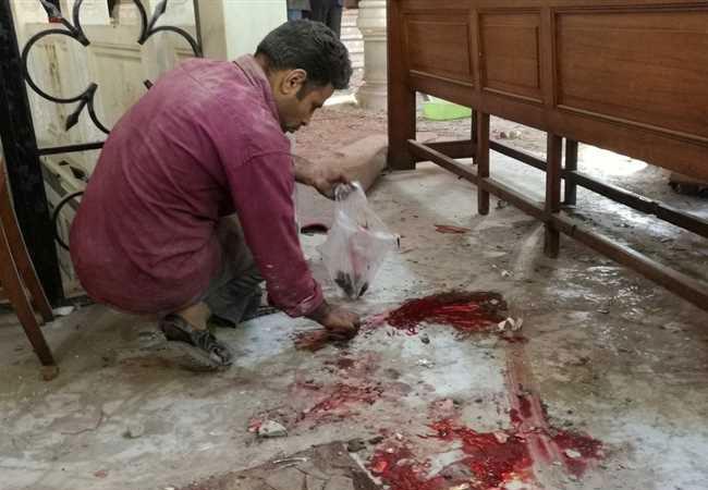 انفجارات كنيسة العباسبة - بارزة