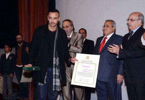 نجل خالد صالح