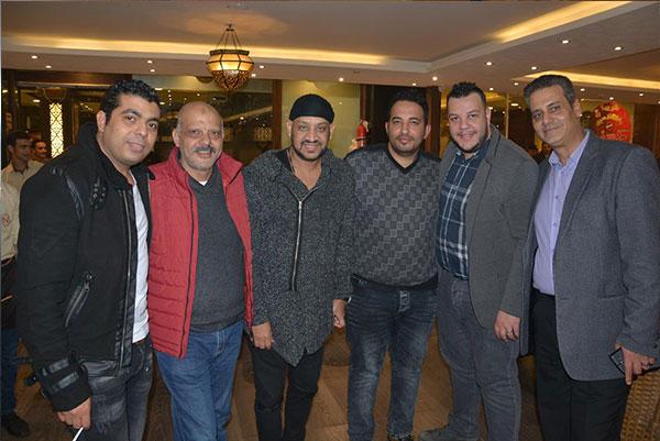 زفاف نجل احمد شيبة بحضور النجوم