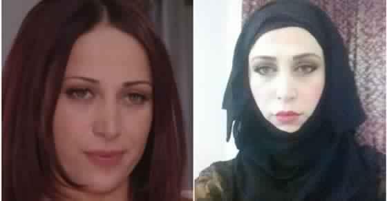 الممثلة لونا الحسن