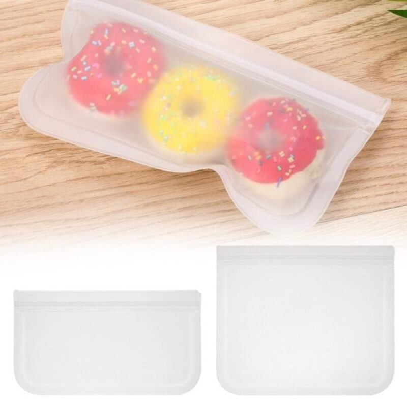 Resealable Translucent Snack Bag