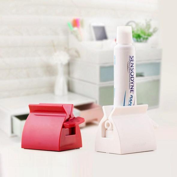 2PCS Rolling Tube Toothpaste Squeezer