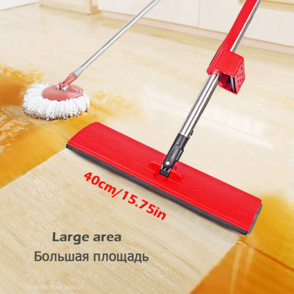 Magic Washing Flat Mop 360 Rotating