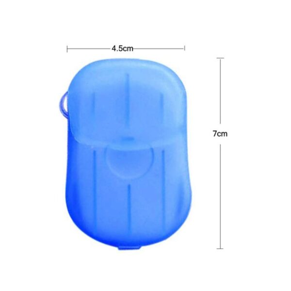 20 PCs Outdoor Travel Hand Washing Soap