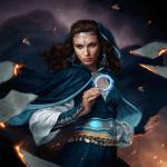 Moiraine Sedai Ognie Niebios okładka ebook Art: Dan Dos Santos