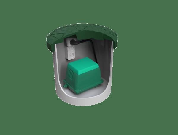 септик Zörde 4 блок управления