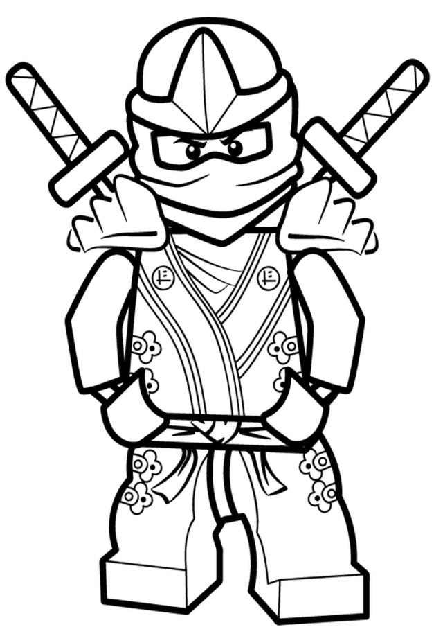 Ninjago lloyd zx coloring pages