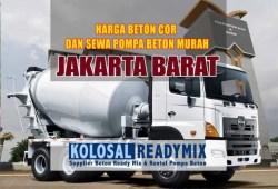 Harga Beton Cor Jakarta Barat Per M3 Terbaru 2020
