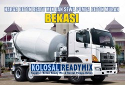 Harga Beton Ready Mix Bekasi Per M3 Terbaru 2020