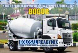 Harga Beton Ready Mix Bogor Per M3 Terbaru 2020