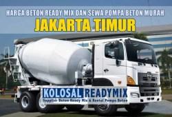 Harga Beton Ready Mix Jakarta Timur Per M3 Terbaru 2020