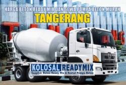 Harga Beton Ready Mix Tangerang Per M3 Terbaru 2020