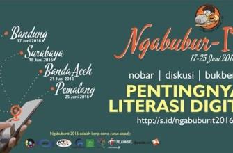 """Field Report Ngabubur-IT """"Pentingnya Literasi Digital"""""""