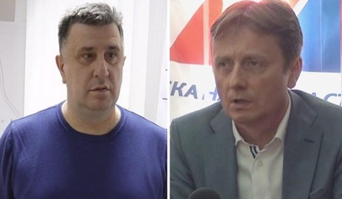 Slobodan Gvozdenovic i Darko Glisic
