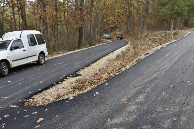 asfaltiran put kozličić