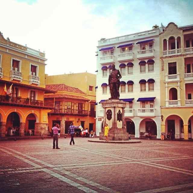 Hauptplatz Cartagena