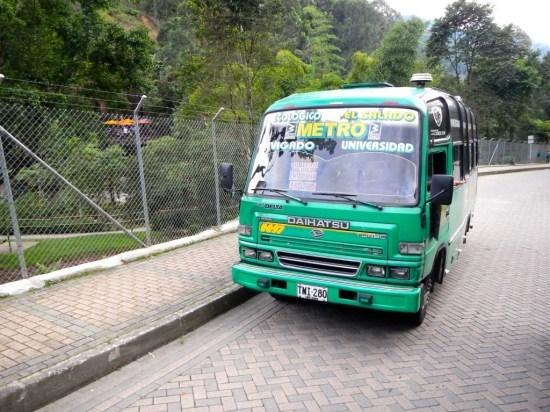 Bus zum Park