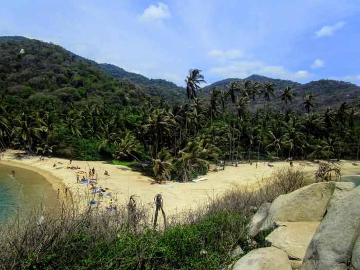 Aussicht Cabana El Cabo Strand