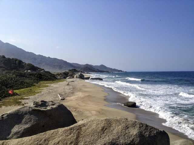Strand Arrecifes Tayrona