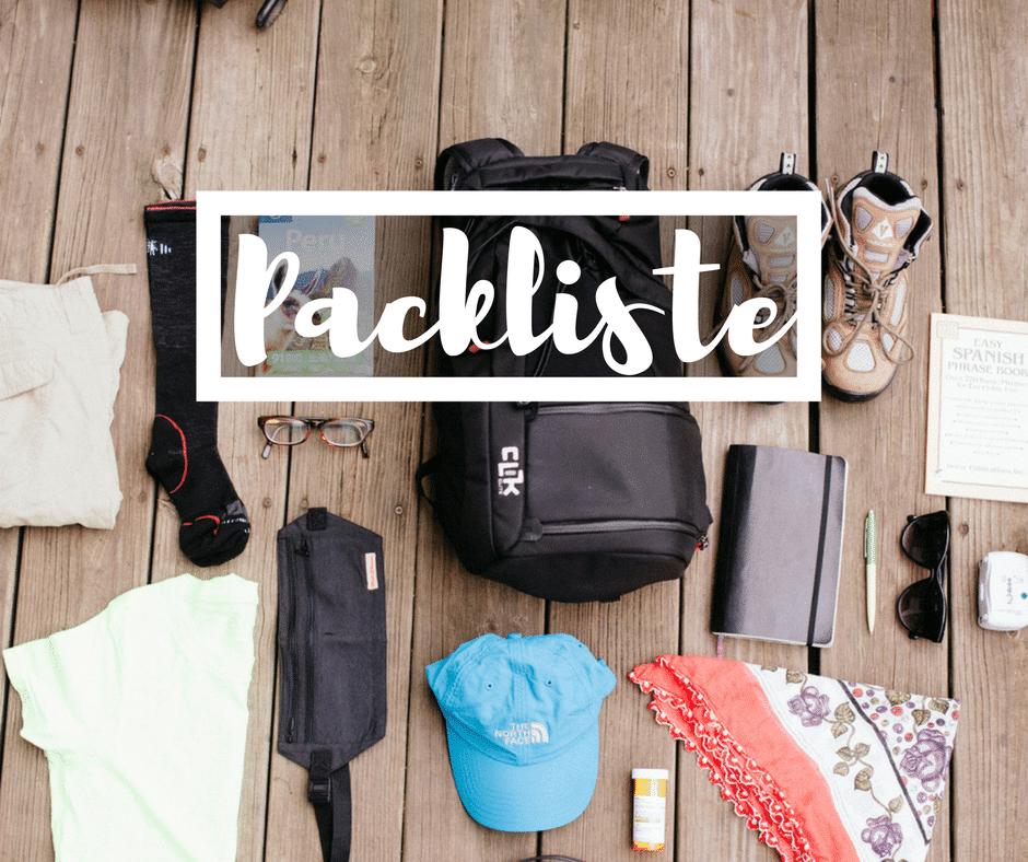 Packliste: Was sollte ich fürKolumbien einpacken?