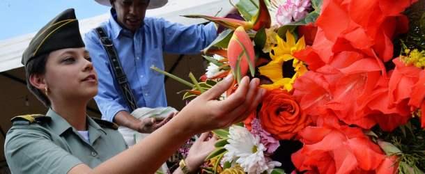 La Feria de las Flores en Medellin, Colombia