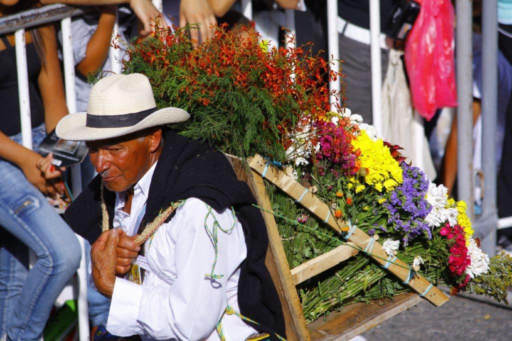 Silletero Feria de las Flores Medellin