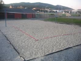 Sandvollyball-banen