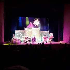 В Магаданском областном Театре Кукол прошло сказочное представление