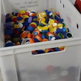 Первая партия «Заботливых крышечек» готовится к отправке на переработку