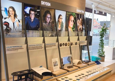 Essilor – Väggdisplay