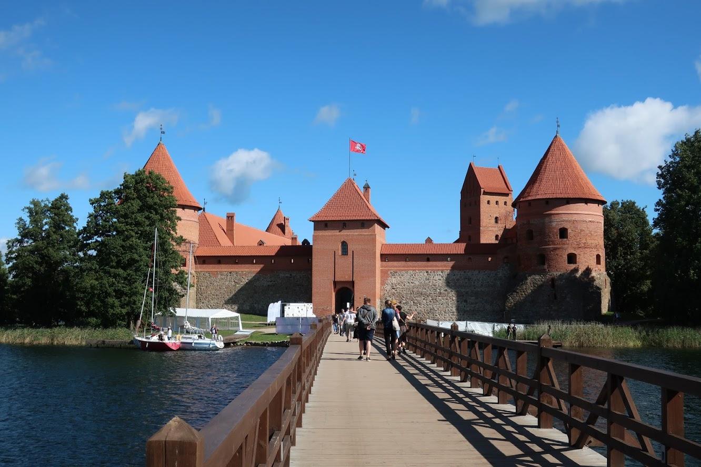 リトアニアの世界遺産トラカイ城に行ってみた【ドラクエの世界】