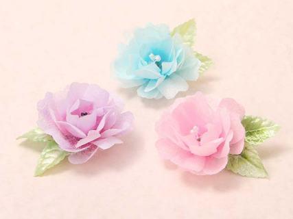 お花のブローチ」