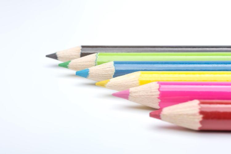 色鉛筆画像