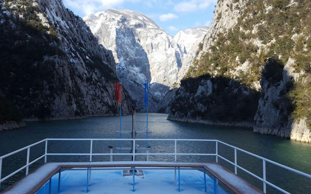 Tours in the Komani Lake