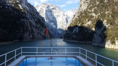 Ferry Berisha in Koman Lake (11)